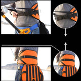 2016 New Thickened Pad Sea Fishing Harness Adjustable Fighting Belt Waist Rod Holder with Cushion Big Fish Fishing Tackles