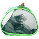 Foldable Automatic Fishing Net Crab Fish Lobster Shrimp Minnow Fishing Bait Trap Cast Dip Drift Shrimping Net Cage 75 * 75 *45cm