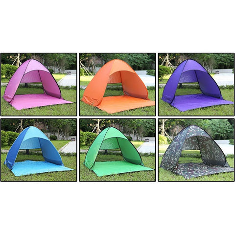 Tent Outdoor camping beach summer sun shelter