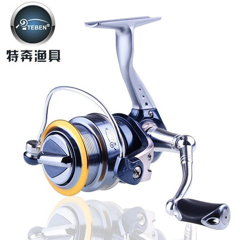 Teben Brand VIC 4000  Freshwater Carp Spinning Fishing Reel 9 Ball Bearings  5.1:1 for feeder fishing 356g