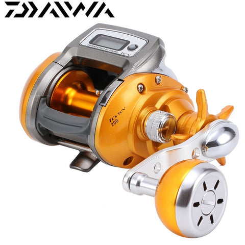 DAIWA 200L Electric Counting Fishing Reel Digital