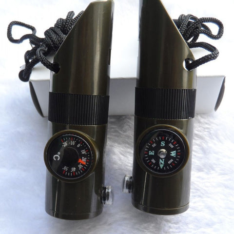 Portable 7 in 1 Survival Compass