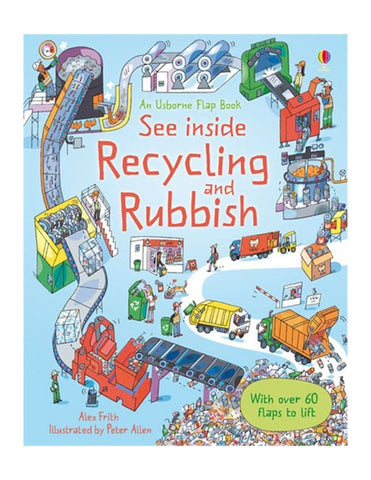 Recycling and rubbish book cover