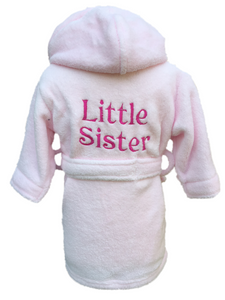 Sister design dressing gown personalised – Cozy Robes