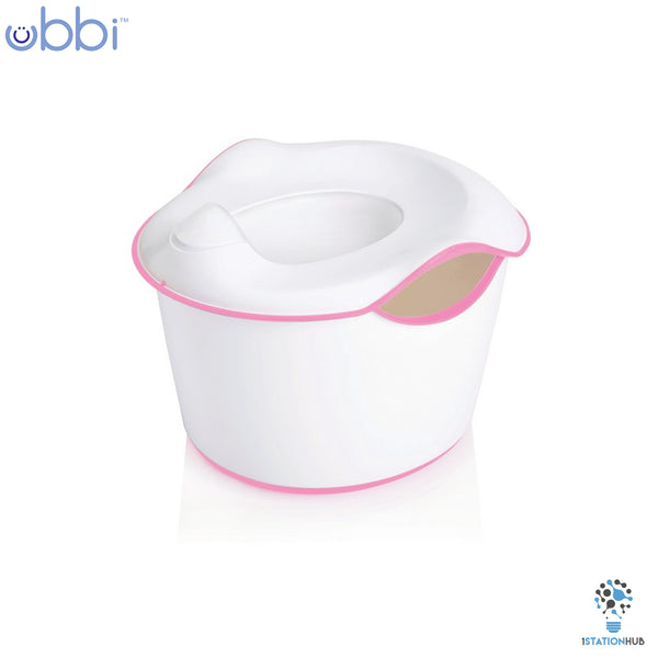 Ubbi 3-in-1 Toddler Potty  | Pink