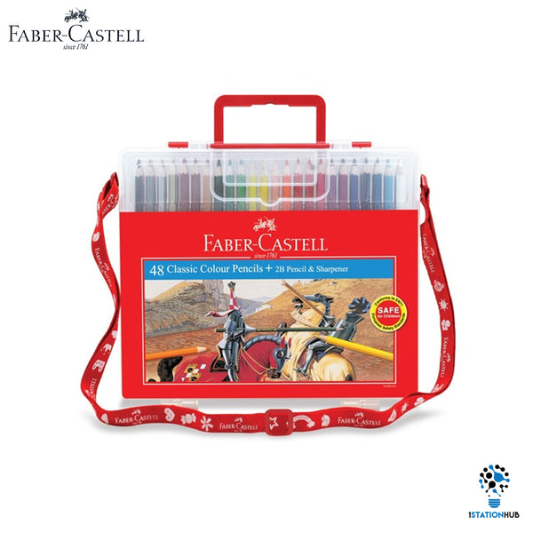 Faber Castell 48 Colour Pencils Wonder Box Set