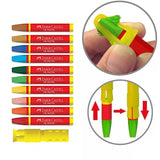 Faber Castell Oil Pastels + Clamshell Extender and Sharpener