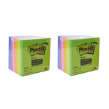 "3M Post-It Super Sticky Notes Memo 2""x2"" 