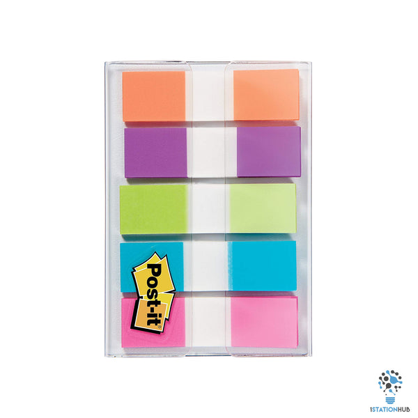 3M Post-it Page Flags 5 Bright Colours