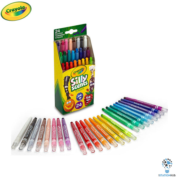 Crayola 24ct Mini Silly Scents Twistable Crayons