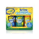 Crayola Washable Fingerpaint | 3 Bottle Secondary Colours