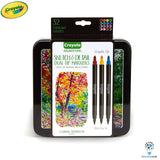 Crayola Signature 16 Dual Tip Sketch and Detail Markers
