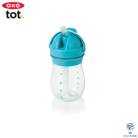Oxo Tot Grow Straw Cup | 290ml - Aqua