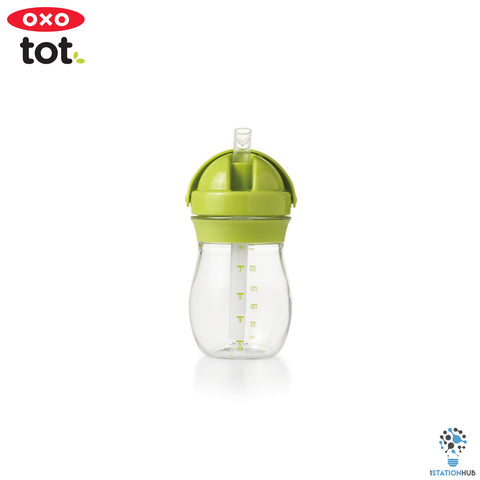 Oxo Tot Grow Straw Cup | 290ml - Green
