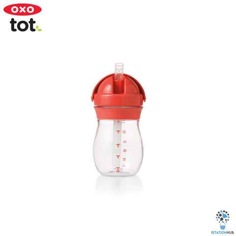 Oxo Tot Grow Straw Cup | 290ml - Orange