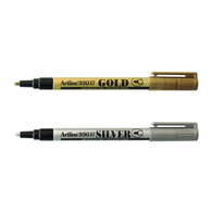 Artline 990XF Metallic Permanent Marker | Gold & Silver
