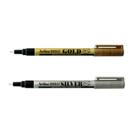 Artline 999XF Metallic Permanent Marker | Gold & Silver