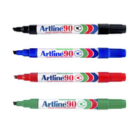 Artline 90 High Performance Permanent Marker | 4 Colour Set