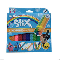 ARTLINE Stix Pens | Non Toxic Colouring Marker | Pack of 12
