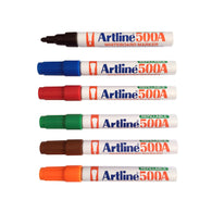 Artline 500A Whiteboard Marker | 6 Colour Set