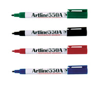 Artline 550A Whiteboard Marker 1.2mm | 6 Pens