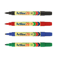 Artline 70 High Performance Permanent Marker | 4 Colour Set