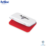 Artline Inked Stamp Pad No.0 | 56 x 90mm - Red
