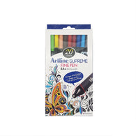 Artline Supreme Fine Pen 0.4mm Nib | 20 Pens