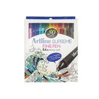Artline Supreme Fine Pen 0.4mm Nib | 30 Pens