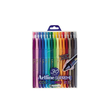 Artline Supreme EPFS-210 | 0.6mm Nib | 30 Pens