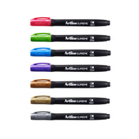 Artline Supreme Metallic Colour Permanent  Marker - Pack of 7