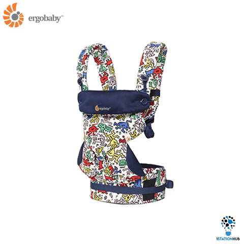 Ergobaby Four Position 360 Baby Carrier | Keith Haring Pop