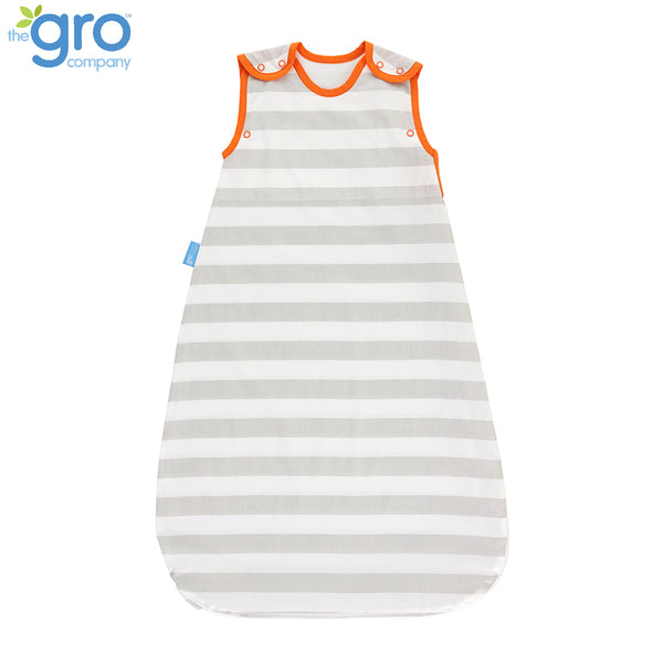 Gro Insect Shield Grobag | 0.5 Tog Grey Stripe