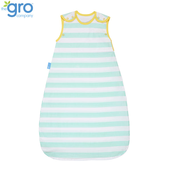 Gro Insect Shield Grobag | 0.5 Tog Mint Stripe
