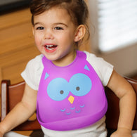 Make My Day Baby Bib | What A Hoot Owl