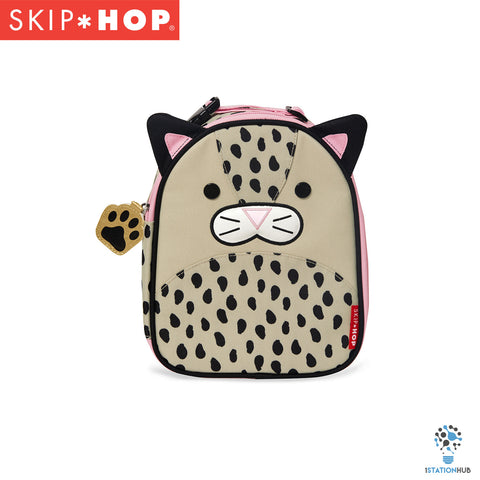 Skip Hop Zoo Lunchie Insulated Lunch Bag | Leopard
