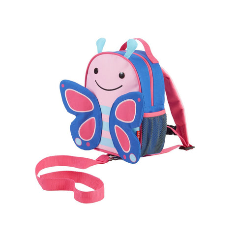 Skip Hop Zoo-let | Mini Backpack with Rein - Butterfly