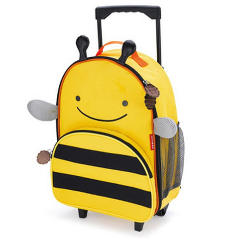 Skip Hop Zoo Rolling Luggage Bag | Bee