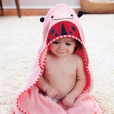 Skip Hop Zoo Hooded Kids Towel | Cotton Terry | Ladybug
