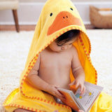 Skip Hop Zoo Hooded Kids Towel | Cotton Terry | Duck
