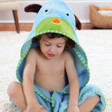 Skip Hop Zoo Hooded Kids Towel | Cotton Terry | Dog