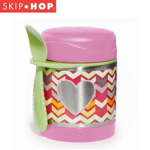Skip Hop Forget Me Not Insulated Food Jar | Hearts