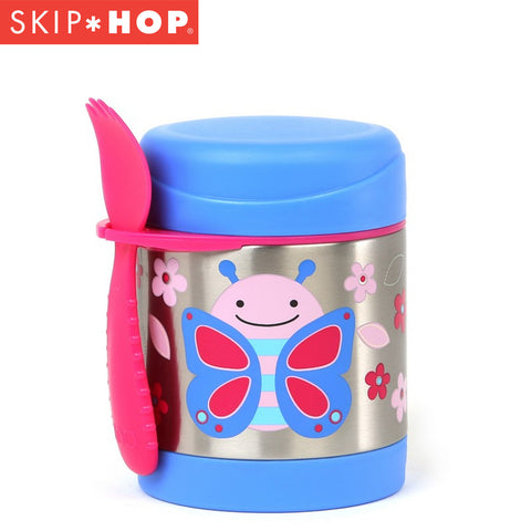 Skip Hop Zoo Insulated Food Jar | Butterfly
