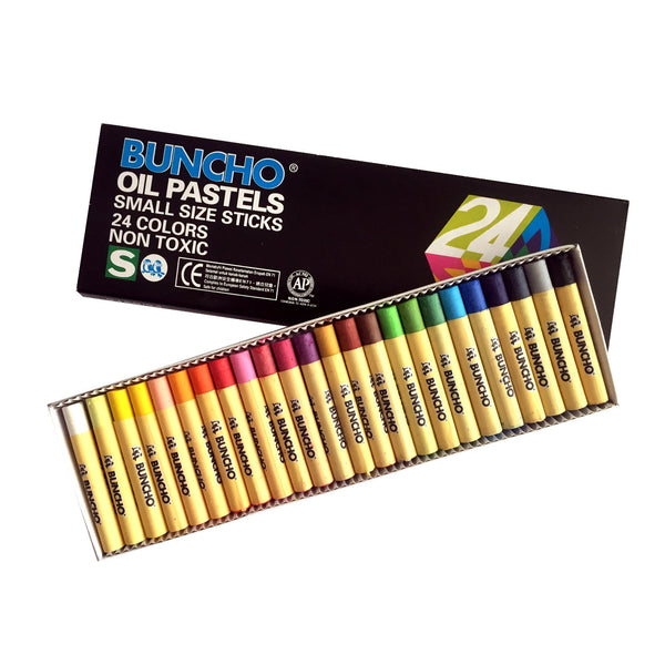 Buncho 24 Colour Oil Pastels Colors | Art Crayon