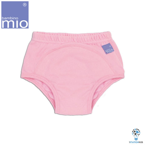 Bambino Mio Reusable Potty Training Pants | Plain Light Pink