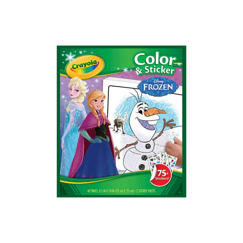 Crayola Colour & Sticker | Disney Frozen