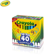 Crayola The Big 40 Washable Markers | Classroom Pack