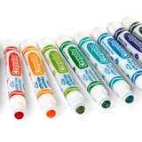 Crayola Ultra-Clean Stampers | 10 Nontoxic Washable Markers