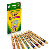 Crayola Write Start Colored Pencils | 8 Colour Pencils