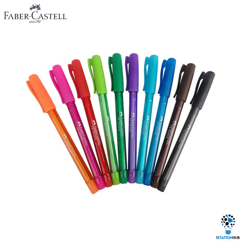 Faber Castell CX Colour Pen | Pack of 10 Pens